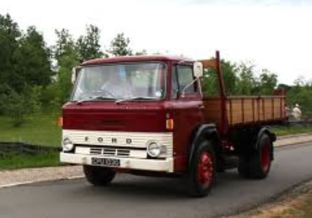 1968 Ford D Series Dropside Truck I learnt to drive on one of these just like many others I suspect