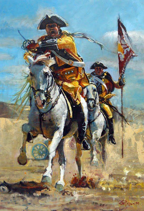 la Batalla de Zaragoza o Batalla de Monte Torreo, librada el 20 de agosto de 1710.JPG