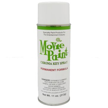 Movie Paint Permanent Spray Paint Chroma Green - 11 oz - Pintura Color Croma Verde