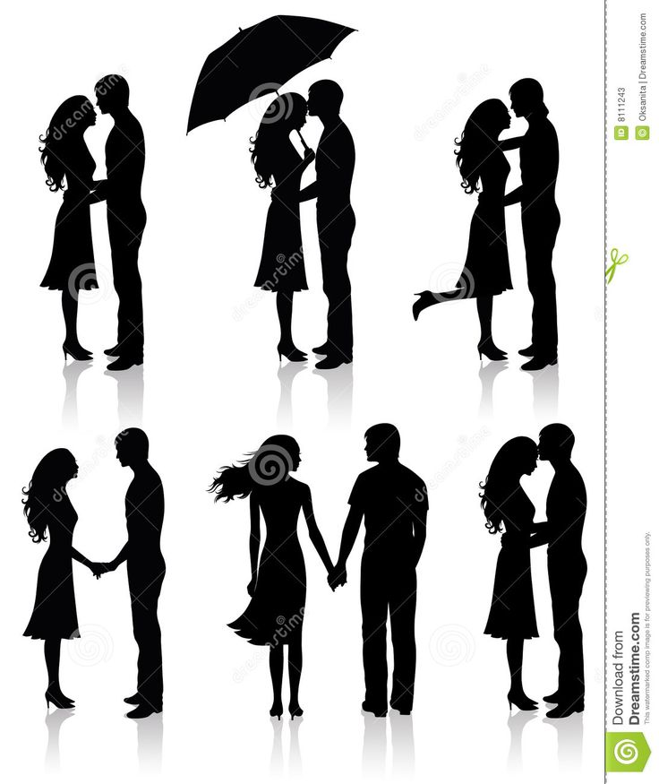 Collection Of Couples. - Download From Over 53 Million High Quality Stock Photos, Images, Vectors. Sign up for FREE today. Image: 8111243
