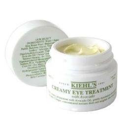 Kiehl's Creamy Eye Treatment with Avocado 0.5 OZ by Kiehl's. $35.99. .5 oz.. Gently moisturizes the delicate eye area. New and unboxed.. This creamy preparation with Avocado Oil, gently moisturizes the delicate eye area. Our unique, concentrated texture does not migrate into your eyes. Ophthalmologist-Tested. Dermatologist-Tested.. Save 10%!