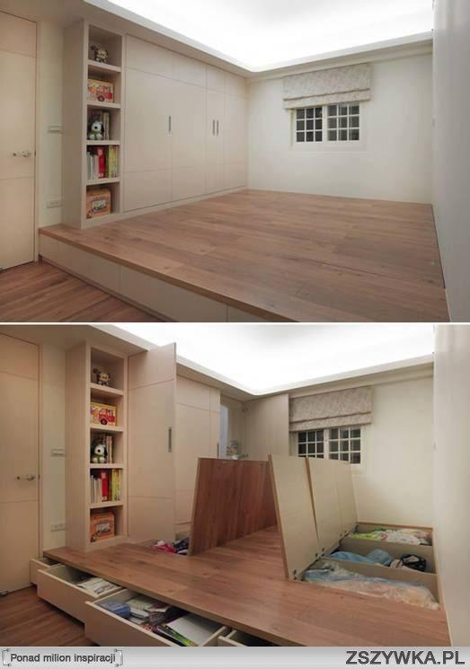 Así quiero mi habitación, muy buena idea.
