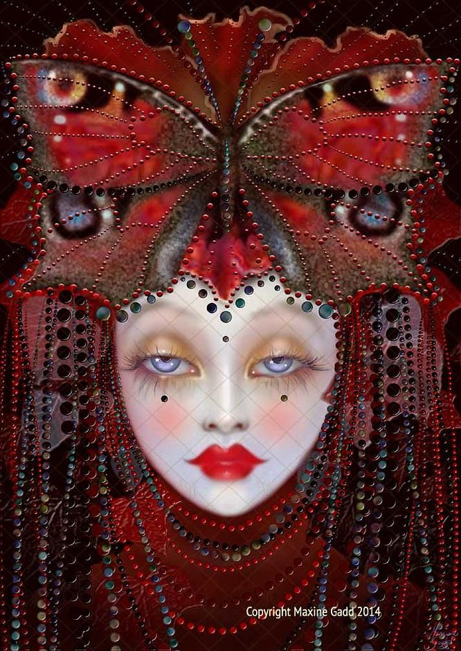Jesters Maxine Gadd published fairy fantasy artist ...