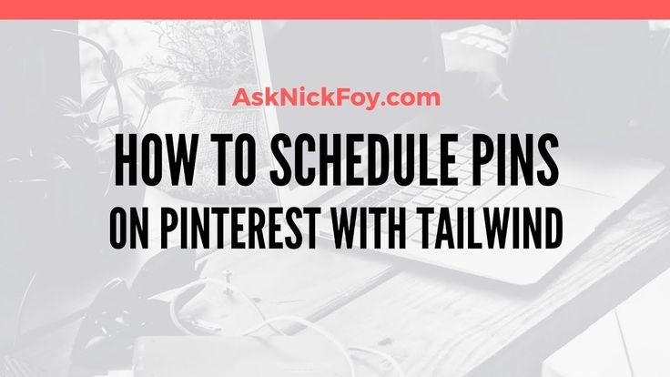 Learn how I use Tailwind to grow my Pinterest followers and increase website traffic from automated pinning thanks to Pinterest schedule tools like Tailwind. Subscribe to the YouTube channel Nick Foy TV for more video lessons. Please Share!