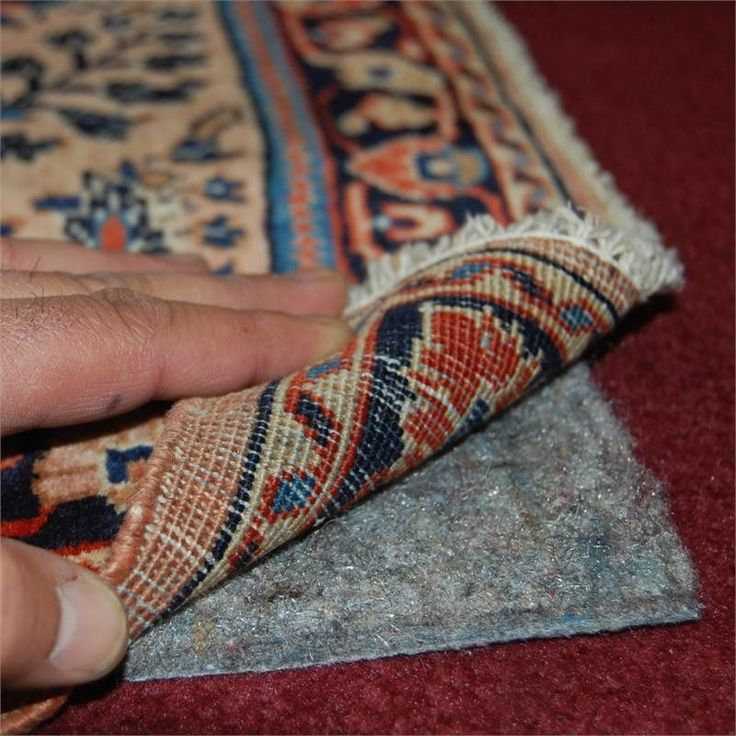 Best rug pad for area rugs on top of carpet.  This will finally stop the bunching!