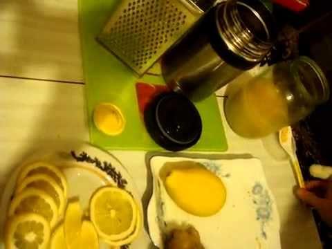 Имбирный чай для похудения - YouTube