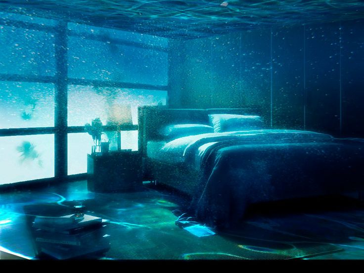 Water bed...room