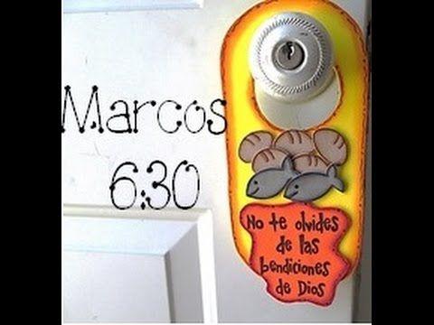 Manualidades cristianas, Porta chapas de foami, Marcos 6:30 - http://cryptblizz.com/como-se-hace/manualidades-cristianas-porta-chapas-de-foami-marcos-630/