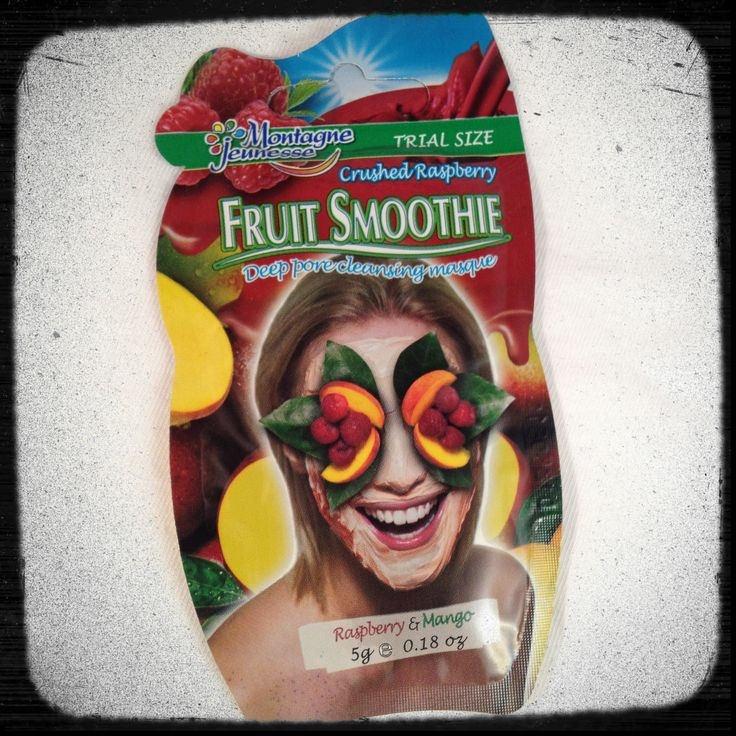 Thank you #Influenster and #MontagneJeunesse Fruit Smoothie Facial Mask, this was in my Holiday Vox Box.