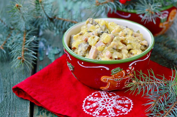 Dieci contorni per il pranzo di Natale invece delle (solite) insalate