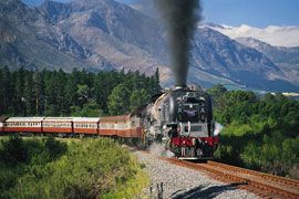old railroad trains of south africa in photos | Africa Steam Trains - South Africa offers a wealth of steam train ...
