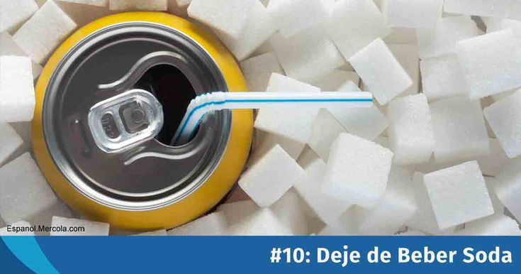 Dejar de beber soda es una de las medidas más importantes que puede tomar para mejorar su salud. https://articulos.mercola.com/sitios/articulos/archivo/2018/01/10/riesgos-de-salud-de-beber-soda.aspx?utm_source=espanl&utm_medium=email&utm_content=art1&utm_campaign=20180110&et_cid=DM178392&et_rid=179411109