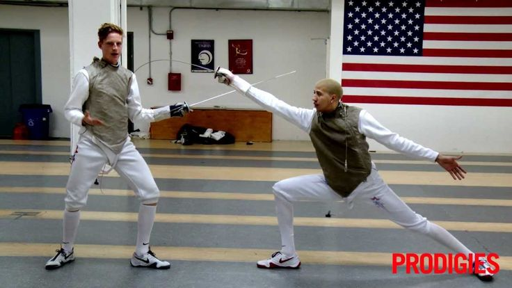 Top-ranked US Fencer Race Imboden and his teammate Miles Chamley-Watson demonstrate three fencing fundamentals to get you moving like an Olympic athlete. En ...