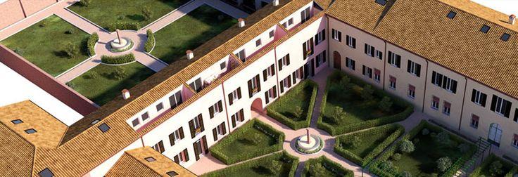 Esempio di utilizzo di virtual tour con un render 3D immobiliare.