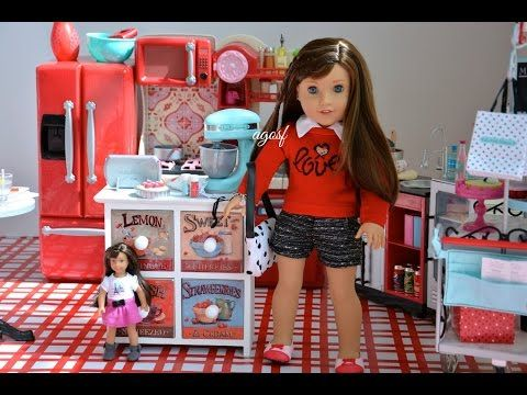 American Girl Doll Grace Thomas Kitchen ~GOTY 2015~ HD WATCH IN HD! - YouTube