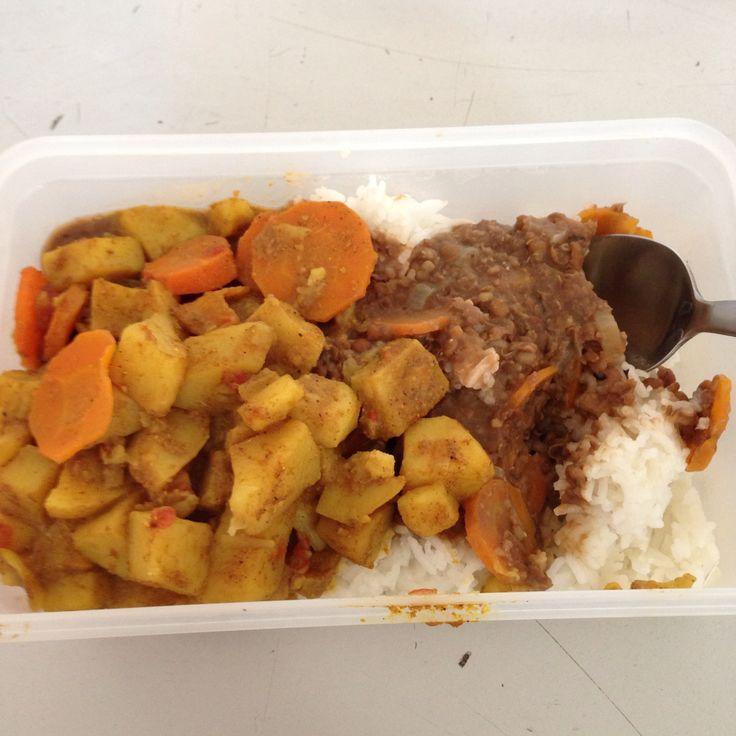 Bon je remets ça avec les restes pour mon #lunch ! #paradise #Mauritius #Metz #foodporn #massala