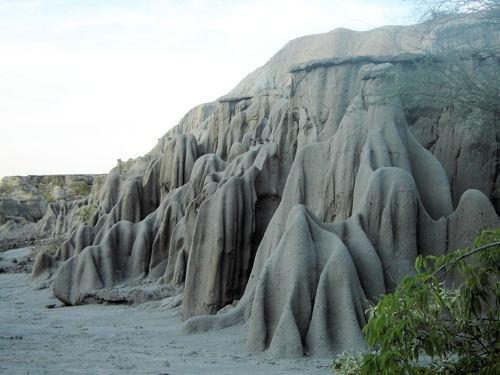 Boveda Celeste in Tatacoa Desert. Villavieja, Huila - Colombia