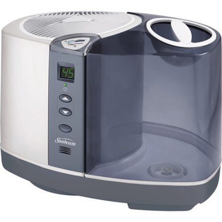 Large Room Cool Mist Humidifier, White