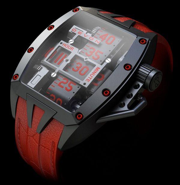 #Devon Tread 2 priced at USD 15,000. #unique #watch