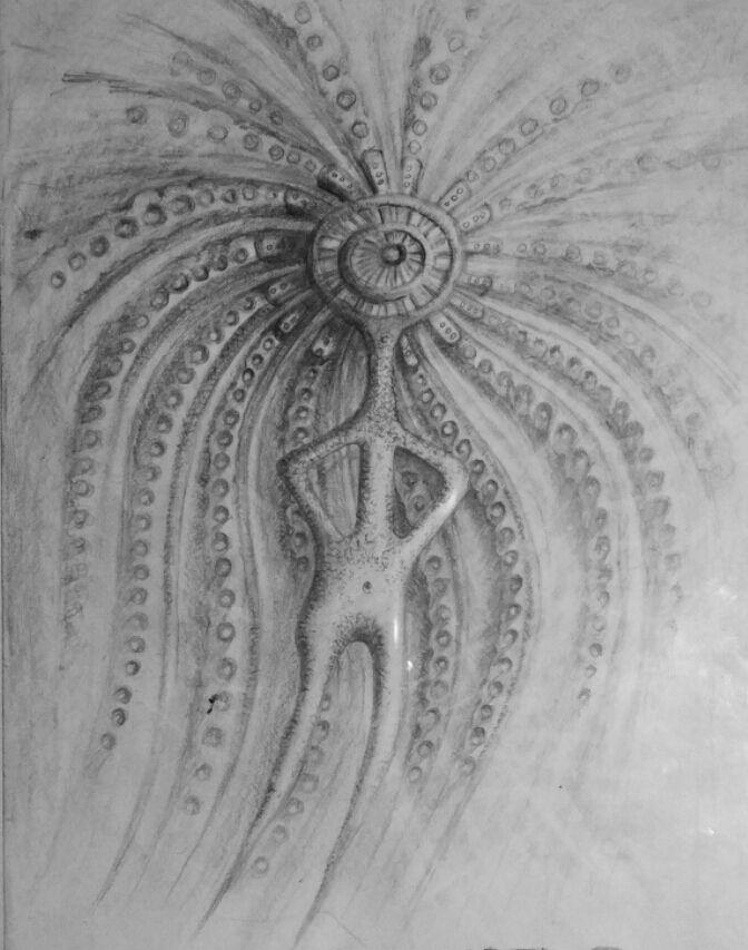 Petroglyph _ shaman