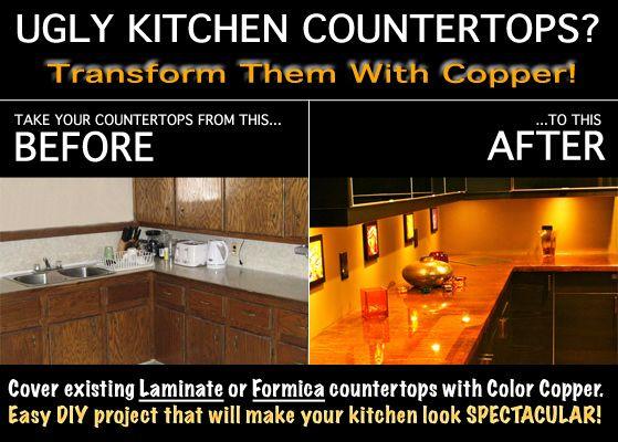 Best 25+ Copper Countertops Ideas On Pinterest | Inexpensive Counter Tops,  Copper Counter And Copper Backsplash