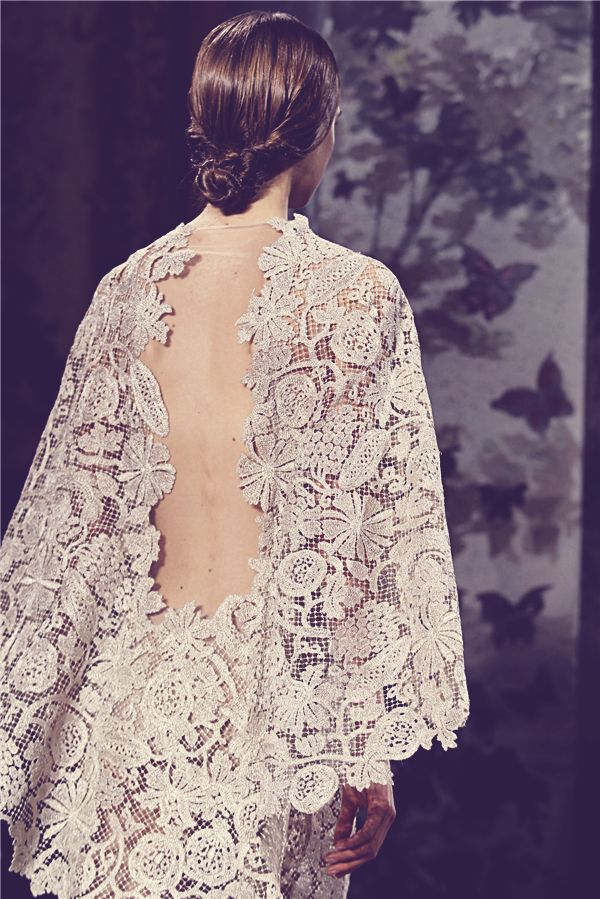 Fashion Runway | Valentino: Couture Spring 2014 - dustjacket attic