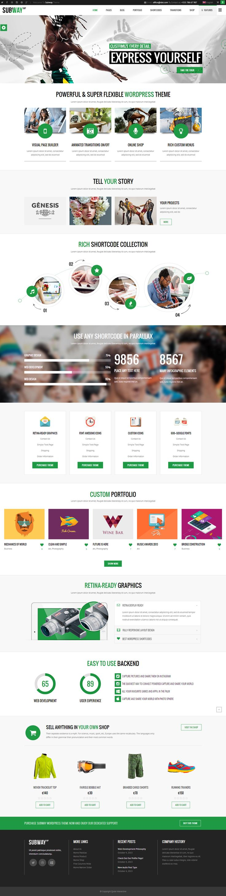 The Most CreAtive Professional WordPress Themes of 2015