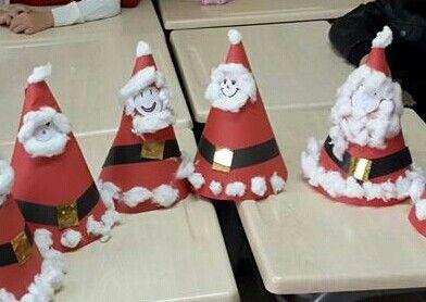 Santa hat kidscraft