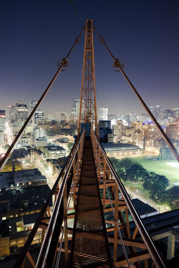 SkyBridge, Toronto, Canada.  Go to www.YourTravelVideos.com or just click on photo for home videos and much more on sites like this.