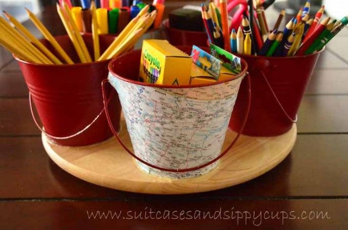 spinning school supply caddy                                                                                                                                                     More