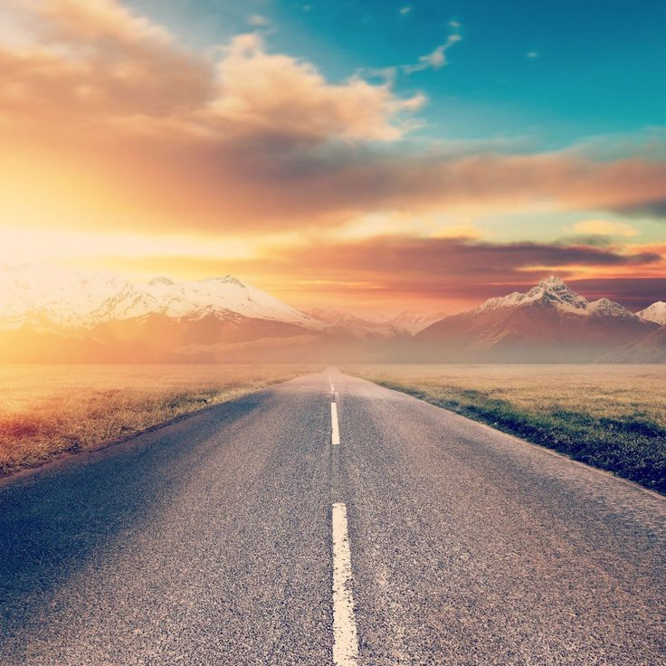 Road To Future Awesome iPad Wallpaper HD iPad