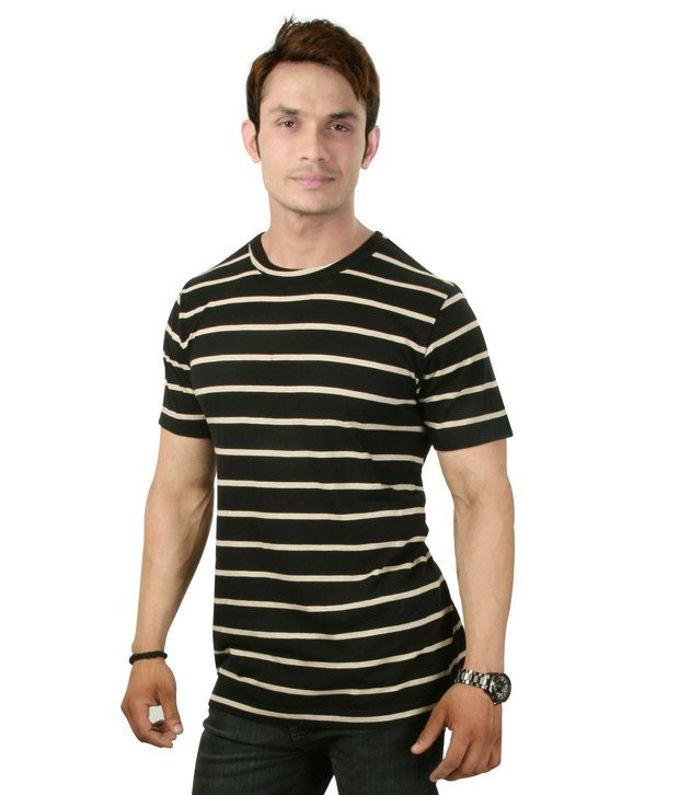 Sapphire Black Half Cotton Round T-Shirt  SELLING PRICE Rs 499 Visit Us :- http://goo.gl/ocLcKP