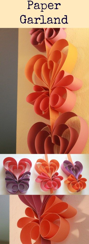 Paper Garland – Happiness is Crafting!