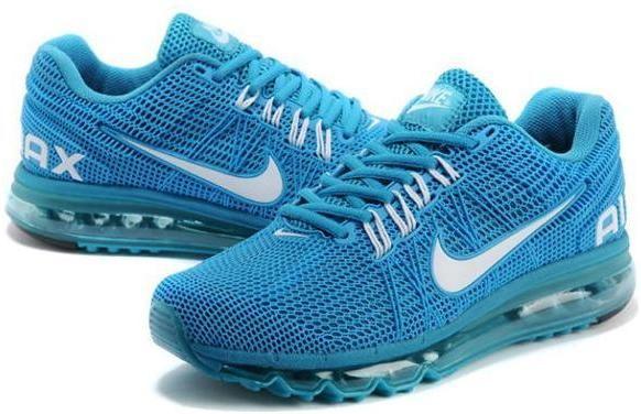 Discount 2013 Nike air max mens sneakers blue sz 40 45