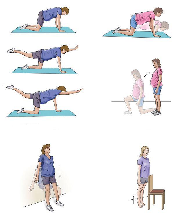 Упражнения для беременных http://www.moy-rebenok.ru/zhurnal/rody/podgotovka-beremennost-i-rody/uprazhnenija-dlja-beremennykh/