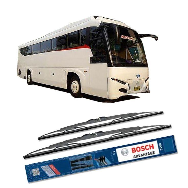 """Bosch Sepasang Wiper Kaca Mobil Bus/Bis Tipe Transformer Advantage 28"""" & 28"""" - 2 Buah/Set  Umur Pakai & Daya Tahan Lebih Lama Penyapuan kaca yang senyap Performa Sapuan Optimal Instalasi Mudah & Cepat Original Produk Bosch  http://klikonderdil.com/with-frame/1195-bosch-sepasang-wiper-kaca-mobil-mobil-busbis-tipe-transformer-advantage-28-28-2-buahset.html  #bosch #wiper #jualwiper #bistransformer"""