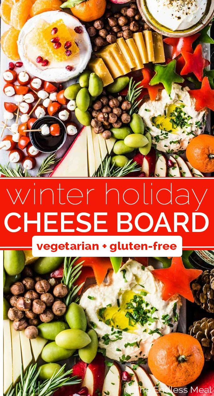 Epic Holiday Cheese Board Recipe Holiday Cheese Vegetarian Cheese Boards Holiday Cheese Boards