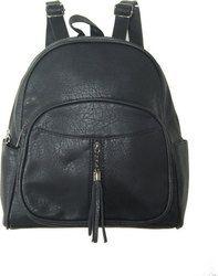 Μαύρη τσάντα πλάτης Αρχική τιμή 25.00 Τελική 20.00 στο http://amalfiaccessories.gr/bags/tsantes-plates/