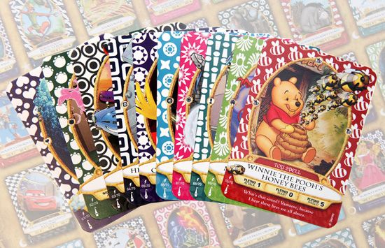 Sorcerer's of the Magic Kingdom- interactive card game that you can play with your family while waiting for Fastpass+ reservations!  Pick up a pack of cards from the Firehouse on Main Street USA at the Magic Kingdom and get instructions for the game from Cast Members.