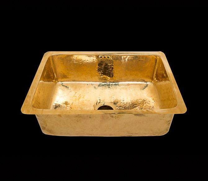 Homeware Brass Sinks Classic Brass Sink The French House