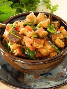 Aubergines à la marocaine | Blog de cuisine bio : Le cri de la courgette...