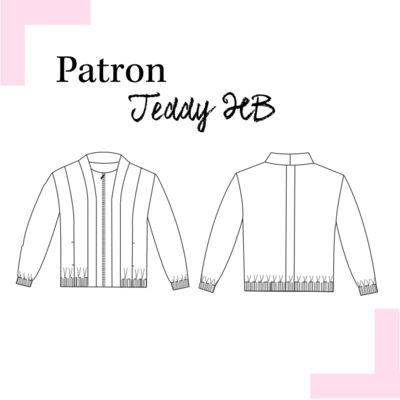Louis Antoinette - veste Teddy HB - patron pochette : 15,90€