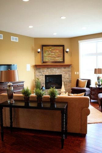 Corner Fireplace Design, Pictures, Remodel, Decor and Ideas - page 16