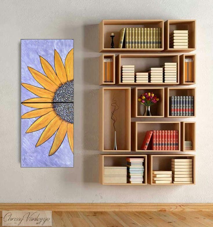 17 best ideas about sunflower paintings on pinterest for Sunflower bedroom decor