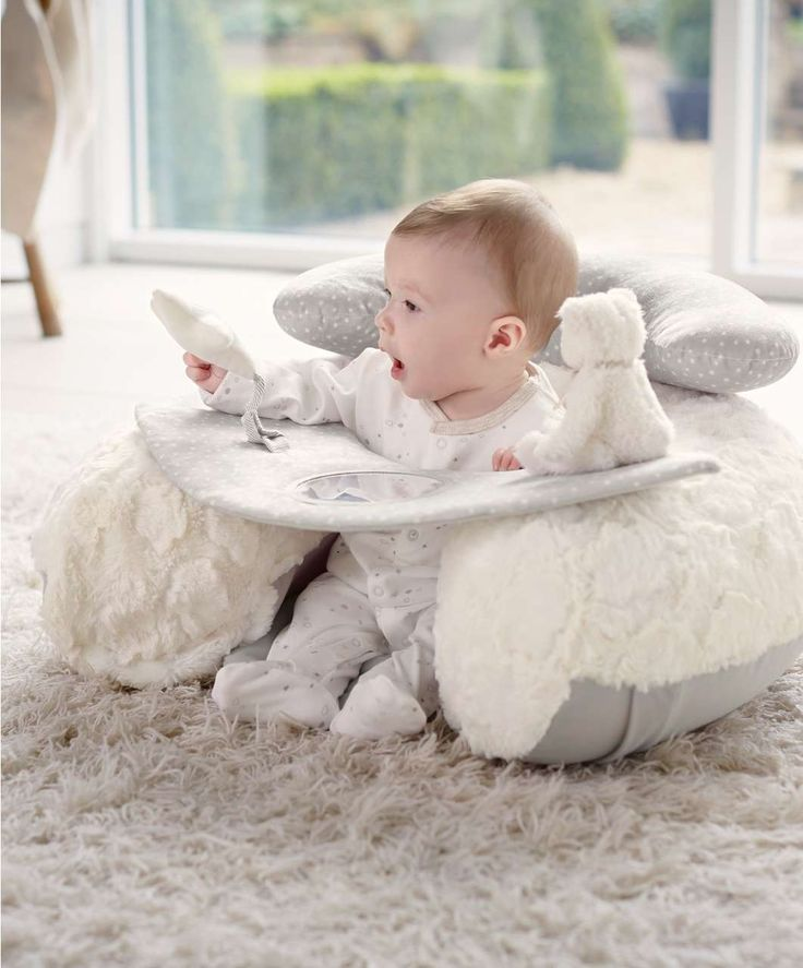 £30 My First Sit & Play Infant Positioner - Baby Floor Seating - Mamas & Papas