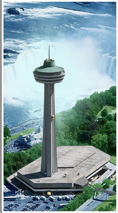 Skylon Tower Restaurant Niagra Falls
