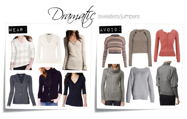 Dramatic sweaters/jumpers