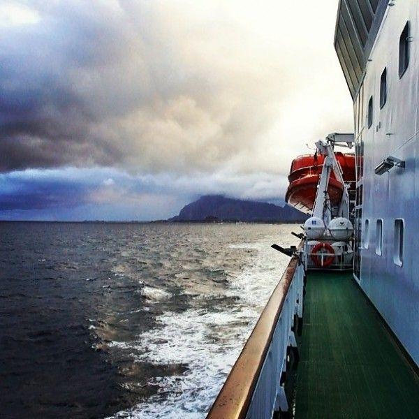 Большая прогулка: Северная Норвегия. Hurtigruten #Hurtigruten #Norway