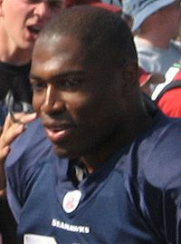 Shaun Alexander -- Full Name: Shaun Edward Alexander (born August 30, 1977) is a former American football running back who played for the Seattle Seahawks and Washington Redskins of the National Football League (NFL).  Born in Florence, KY