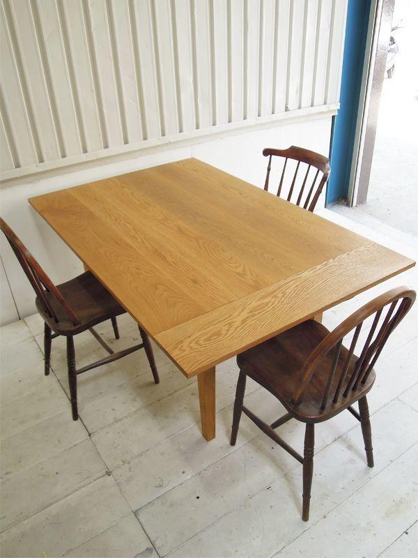 ホワイトオーク伸長式ダイニングテーブル 伸長式ダイニングテーブル ダイニングテーブル ホワイト ダイニングテーブル